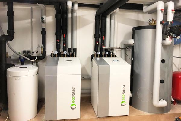 Hybrid-Anlagen Wärmepumpe EcoForest